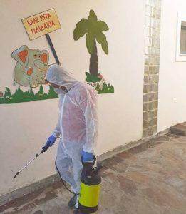 Απολυμάνσεις, απεντομώσεις, μυοκτονίες σε όλες τις σχολικές βαθμίδες του Δήμου Δυτικής Σάμου