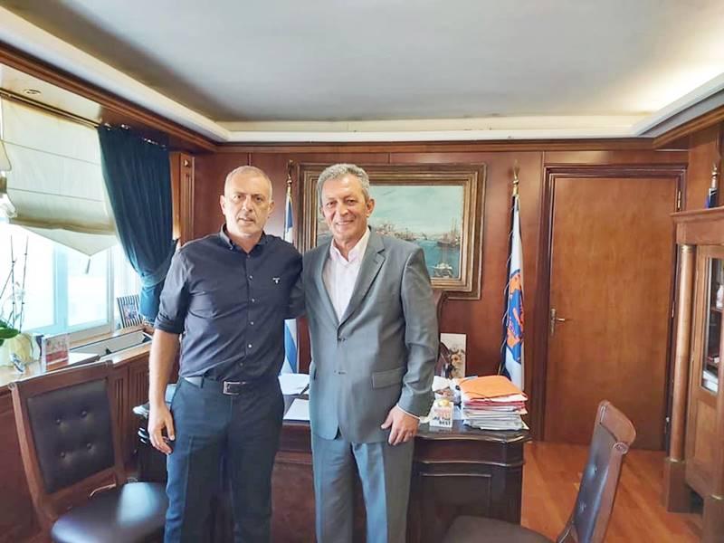 Επισκέψεις και επαφές του Δημάρχου Δυτικής Σάμου Αλέξανδρου Λυμπέρη στην πρωτεύουσα