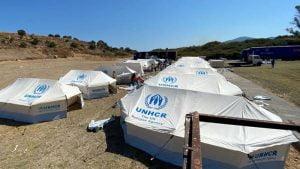 Σημεία δηλώσεων Υπουργού Μετανάστευσης και Ασύλου κ. Νότη Μηταράκη σε ανταποκριτές ξένων ΜΜΕ στη Λέσβο