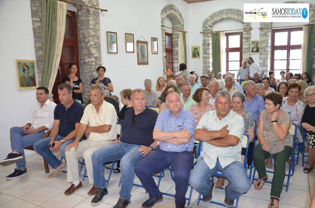Σύσκεψη στους Μυτιληνιούς για το νέο ΚΥΤ. Πολλά ειπώθηκαν, ο καιρός θα δείξει…