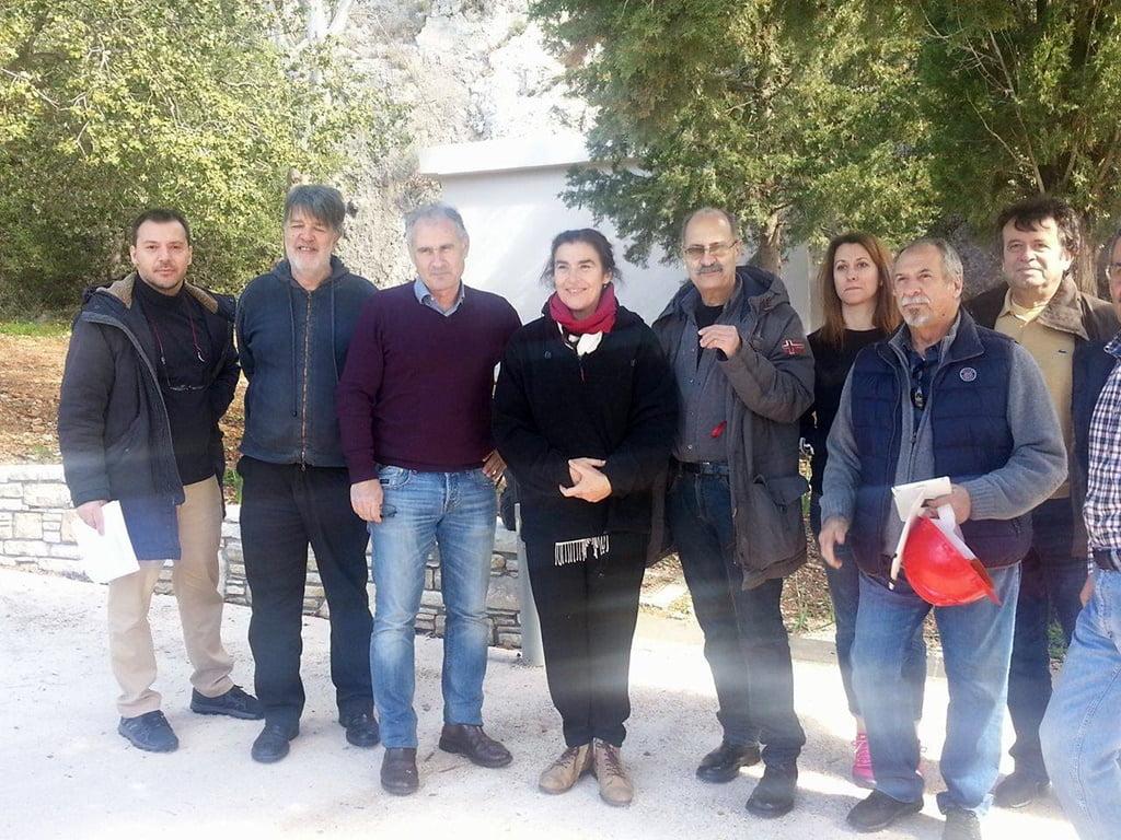 Επίσκεψη της Υπουργού Πολιτισμού στη Σάμο συνοδευόμενη από το Βουλευτή Σάμου, για την ολοκλήρωση των έργων στο Ευπαλίνειο Υδραγωγείο