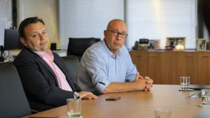Τι ειπώθηκε στη συνάντηση του Δημάρχου Α. Σάμου Γιώργου Στάντζου με τον Υπουργό Νότη Μηταράκη