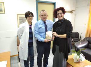 Επίσκεψη του Συλλόγου Πολυτέκνων Σάμου στο νέο Διοικητή του Γενικού Νοσοκομείου