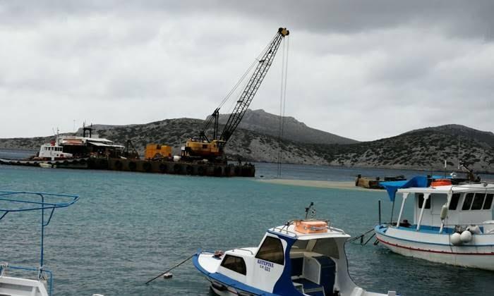 Οι μαθητές και οι μαθήτριες των Φούρνων γράφουν: Πώς θα γίνει το νέο λιμάνι του νησιού τους