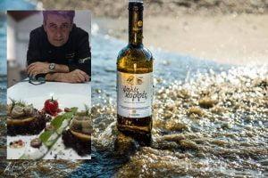 «ΣΤΙΣ «ΨΗΛΕΣ ΚΟΡΦΕΣ» ΤΗΣ ΣΑΜΟΥ» Wine pairing από τον executive chef Βαγγέλη Μπιλιμπά*