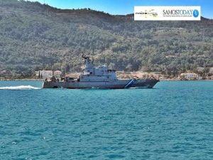 Απαγόρευση ναυσιπλοΐας από Λέσβο μέχρι Σάμο για ανακοπή των ροών