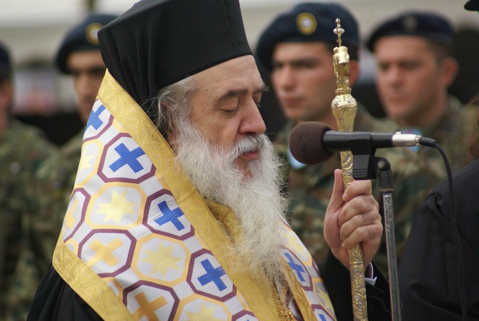 Μητροπολίτης Ευσέβιος: «Έχει αρχίσει η άρση των μέτρων και πλέον θα μπορούν οι πιστοί να παρακολουθούν τη Θεία Λειτουργία, από την Κυριακή  17 Μαϊου