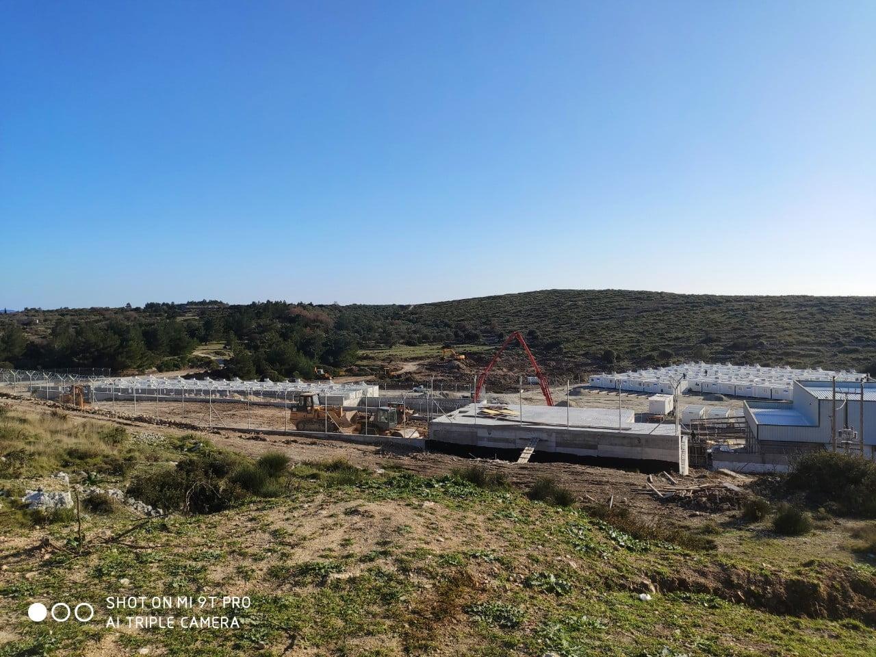 ΕΚΤΑΚΤΟ: Αποκλεισμός του χώρου επίταξης και της υπό κατασκευής υπερδομής στη περιοχή Ζερβού του Δήμου Αν. Σάμου