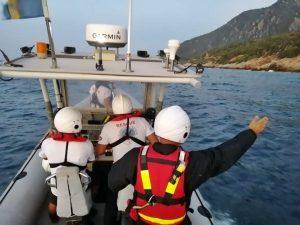 Αίσιο τέλος στην περιπέτεια Σαμιώτη windsurfer ανοικτά του Κοκκαρίου