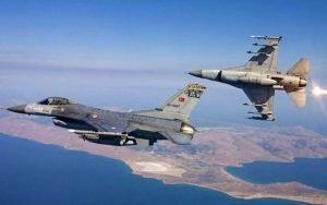 Ρεκόρ υπερπτήσεων από τους Τούρκους: Πέταξαν ακόμα και πάνω από τη Λέρο. Επί ποδός η Ελληνική Πολεμική Αεροπορία
