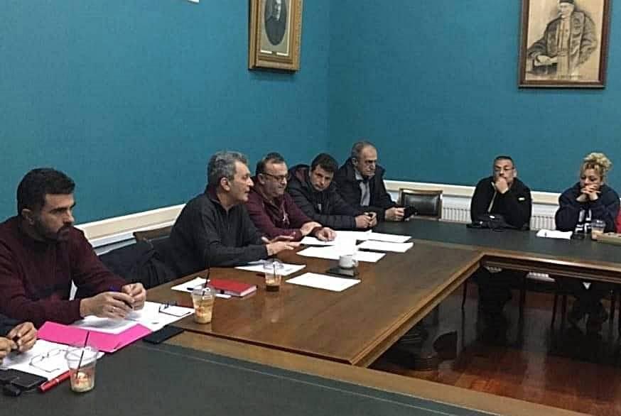 Συνάντηση στο Δήμο Δυτικής Σάμου για την Πολιτική Προστασία