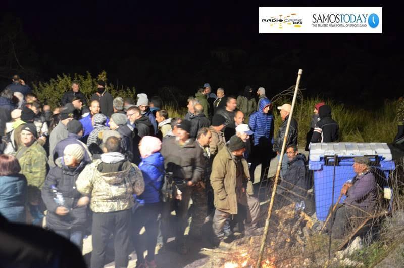 Αποχωρούν από το μπλόκο στην περιοχή «ΖΕΡΒΟΥ». Ανακοίνωση της συντονιστικής επιτροπής