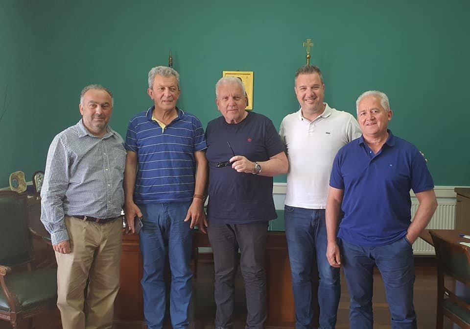 Επίσκεψη Χριστόδουλου Στεφανάδη στον Δήμο Δυτικής Σάμου