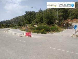 Προσωρινές κυκλοφοριακές ρυθμίσεις στο Βαθύ της Σάμου (αφορά την Περιφερειακή Οδό)