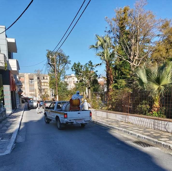 Δήμος Ανατολικής Σάμου: Απολυμάνσεις σε κοινόχρηστους χώρους, Πυροσβεστική, Αστυνομία και Λιμεναρχείο