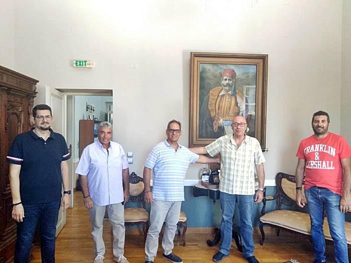 Επίσκεψη Αντιπεριφερειάρχη Λέσβου κ. Χατζηκομνηνού στον Δήμο Ανατολικής Σάμου