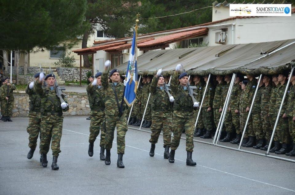 Ορκωμοσία Νεοσυλλέκτων Οπλιτών ΣΞ της 2020 Β΄ ΕΣΣΟ