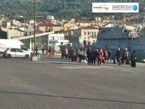 Κάθε μέρα «γεμίζει» κι ένα χωριό. 149 (περίπου) πρόσφυγες – μετανάστες αφίχθησαν σήμερα στη Σάμο