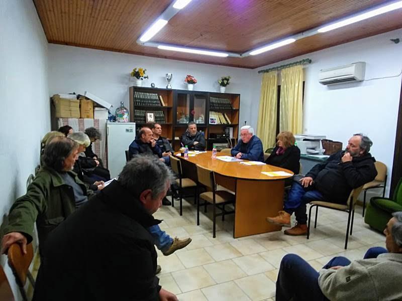 Περιοδεία της Λαϊκής Συσπείρωσης Ανατολικής Σάμου στο Παλαιόκαστρο