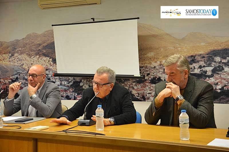 Χριστόδουλος Στεφανάδης: Το θέμα για εμάς στη Σάμο είναι πως θα αποσυμφορηθεί το νησί άμεσα