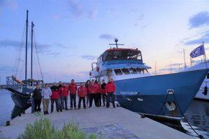 Συνεργασία του Ινστιτούτου Αρχιπέλαγος με την Ελληνική Ομάδα Διάσωσης στη Σάμο