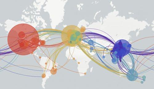 Οκτώ στελέχη του κορωνοϊού ταξιδεύουν στον πλανήτη