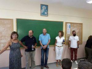 Δημήτρης Ταμπαχανιώτης: Μεγάλα τα ποσοστά συμμετοχής των μαθητών στις τάξεις της Γ΄Λυκείου
