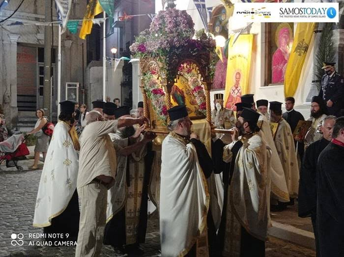 H Ιερά Μητρόπολη Σάμου, Ικαρίας και Κορσεών γιόρτασε τη μνήμη των Σαμίων Αγίων