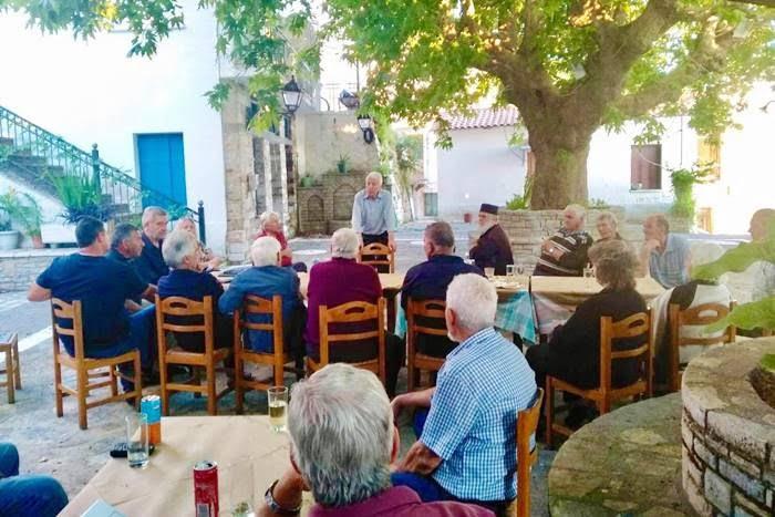 Επίσκεψη Περιφερειάρχη ΒΑ Κώστα Μουτζούρη στη Σάμο