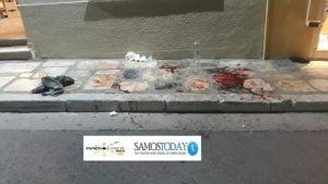Συνελήφθησαν οι δράστες του αιματηρής συμπλοκής αλλοδαπών στο ύψος του Δημοτικού Κήπου της πόλεως Σάμου