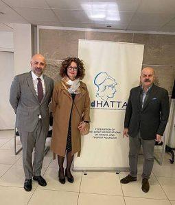 Συνάντηση Δέσποινας Κάϊλα και Εμμανουήλ Βαλή με ΙΑΤΑ για αεροπορική σύνδεση Κωνσταντινούπολης με Σάμο