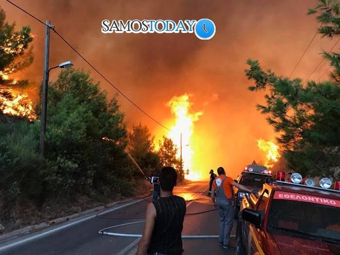 Ένας χρόνος μετά τη μεγάλη πυρκαγιά στη «Λουγκόβρυση» περιοχής Μεσοκάμπου (24/08/2019). Ποτέ ξανά…