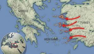 Το Τουρκικό σχέδιο για τους μετανάστες στα παράλια και οι δορυφορικές φωτογραφίες που το «πρόδωσαν»!