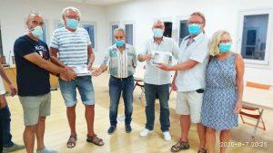 Ο Δήμος Ανατολικής Σάμου βράβευσε την ΑΝΕΤΤΕ  ΤΙΜΜΕRΜΑΝΝ και τον CLAUS MADSEN για την εθελοντική τους προσφορά