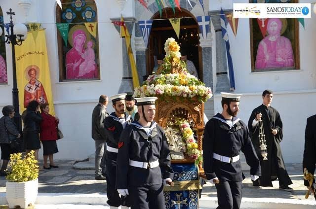 Εορτάσθηκε με κάθε επισημότητα ο προστάτης των ναυτικών μας Άγιος Νικόλαος