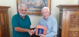 Συνάντηση Κώστα Μουτζούρη με Παύλο Βογιατζή