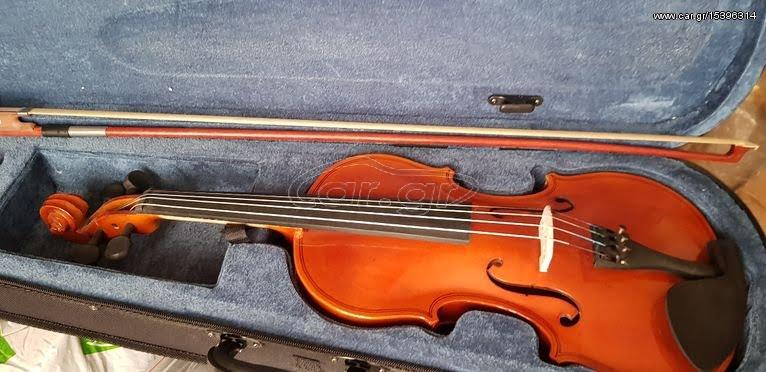 Δωρεά βιολιού στο Μουσικό Γυμνάσιο Σάμου
