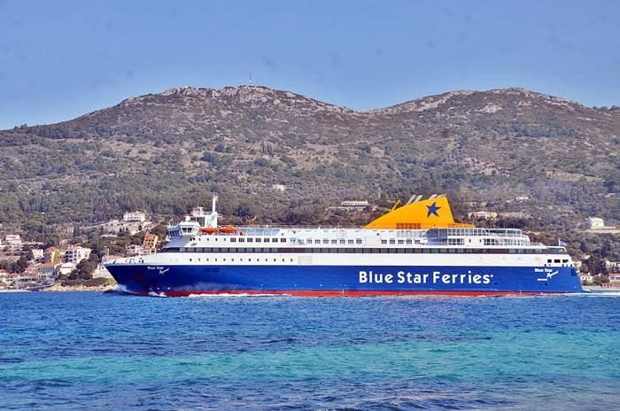 Ανακοίνωση της Blue Star Ferries για το BLUE STAR MYCONOS