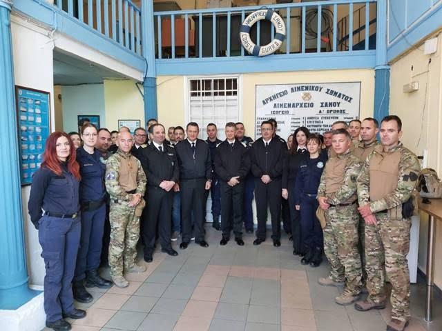Επίσκεψη Αρχηγού Λιμενικού Σώματος – Ελληνικής Ακτοφυλακής  στη Σάμο