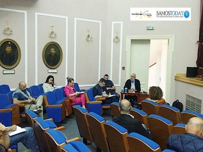 Σύσκεψη φορέων στον Δήμο Ανατολικής Σάμου, αναφορικά με την ομαλοποίηση της οικονομικής δραστηριότητας και την αντιμετώπιση των επιπτώσεων του COVID-19