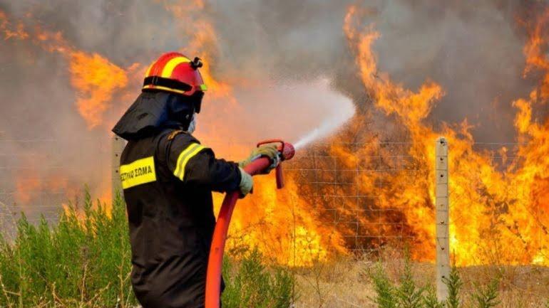 Διαμαρτυρία για την απασχόληση Πυροσβεστών Πενταετούς Υποχρέωσης
