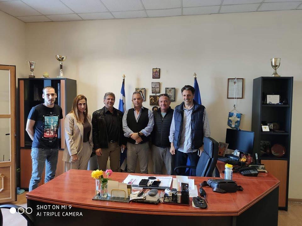Επίσκεψη της Δημοτικής Κοινότητας Σαμίων στη Διεύθυνση Αστυνομίας Σάμου