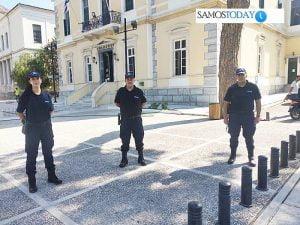 Ανέλαβαν υπηρεσία οι 83 νέοι συνοριοφύλακες στη Σάμο
