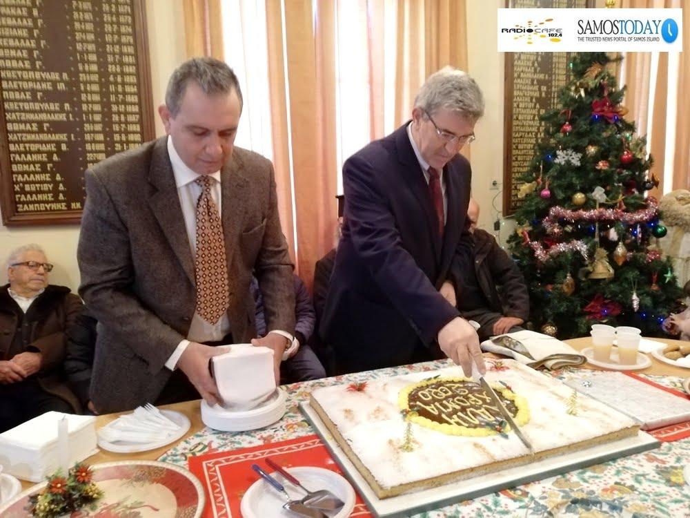 Η Δημοτική Κοινότητα Βαθέος έκοψε την πρωτοχρονιάτικη πίτα