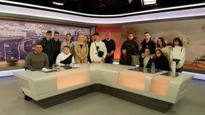 Εκπαιδευτική Εκδρομή «Μαυρογένειου» ΕΠΑ.Λ Σάμου στην Αθήνα με την Ομάδα Ραδιοφώνου