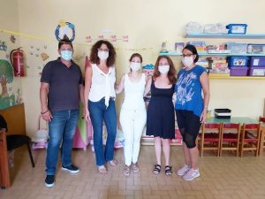 Επισκέψεις Αντιδημάρχων Ανατολικής Σάμου στους Παιδικούς –Βρεφονηπιακούς Σταθμούς των Δημοτικών Ενοτήτων Βαθέος και Πυθαγορείου