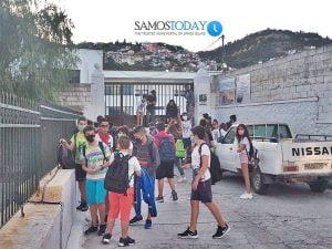 Έληξε η κατάληψη στα Γυμνάσια πόλεως Σάμου