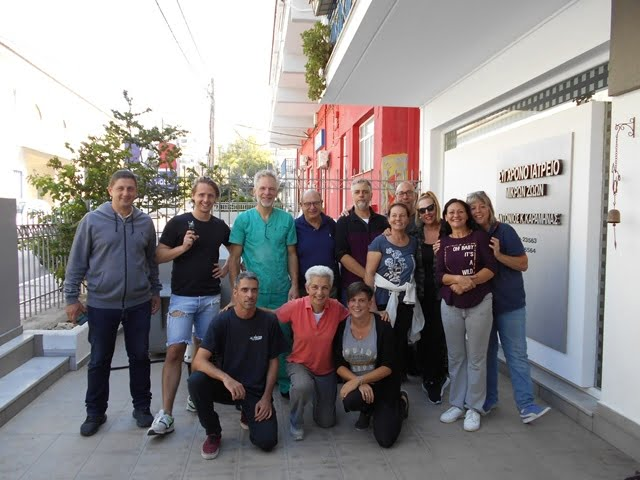 Ευχαριστήριο του Φιλοζωϊκού Σωματείου Σάμου για τις μαζικές στειρώσεις με τον Victor Lans