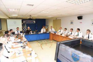 Σύσκεψη στο Αρχηγείο Λ.Σ.-ΕΛ.ΑΚΤ. με θέμα το μεταναστευτικό - προσφυγικό ζήτημα
