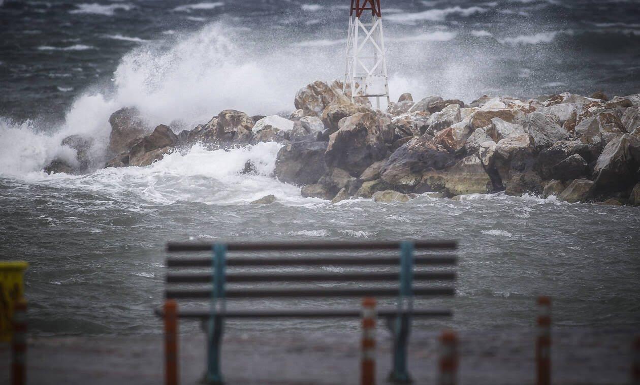 Επιδείνωση του καιρού από το βράδυ του Σαββάτου (28-12-2019) με αισθητή πτώση της θερμοκρασίας, πολύ θυελλώδεις ανέμους, ισχυρές βροχές και χιονοπτώσεις
